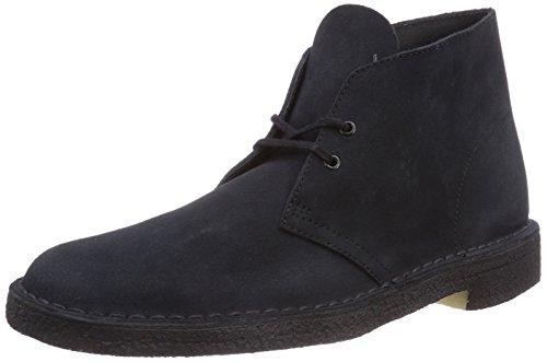 clarks originals desert boot chaussures de ville homme bleu navy suede 44 eu. Black Bedroom Furniture Sets. Home Design Ideas