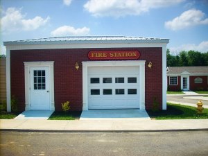 Fire Station at the Chautauqua Safety Village