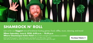 Shamrock n' Roll Event Banner
