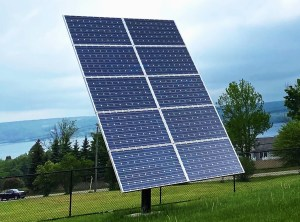 Our Big Solar Panel