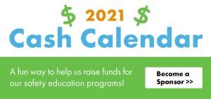 2021 Cash Calendar Banner