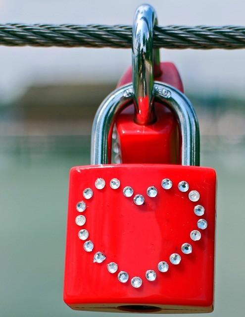 Mann und Frau sind wie Schlüssel und Schloss