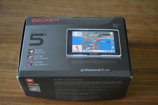 Premium-Navigation für Vielfahrer mit dem Becker professional.5 LMU (1)