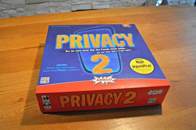 Wir hatten eine Mordsgaudi mit dem Spiel Privacy 2 - 1