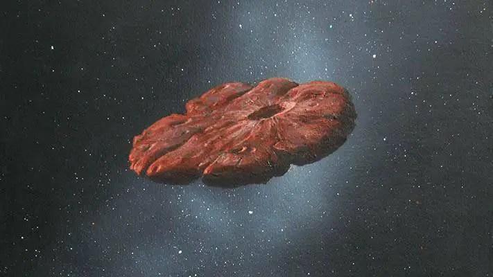Será que Oumuamua é um fragmento de um planeta?