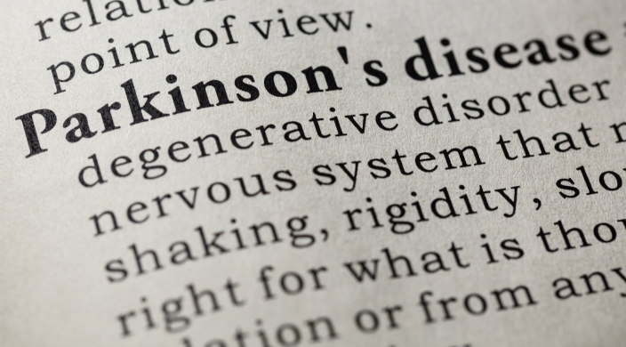 Dictionary entry for Parkinson's disease