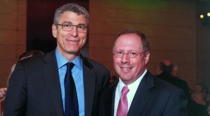 """Rabbi Rick Jacobs and Rabbi Aaron Panken, z""""l"""