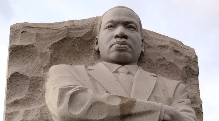 Martin Luther King statue