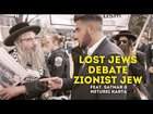 Neturei Karta Debate Zionist Jew