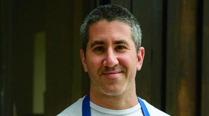 Head shot of Israeli chef Michael Solomonov  of Philadelphia restaurant Zahav