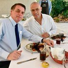 Israeli ambassador in Brazil had eaten a non Kosher food, asked to blur the non kosher food, hilarious result
