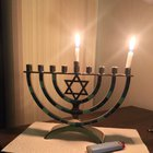 My first Hanukkah! (I'm goy) My roommate is Jewish and asked if I would celebrate with him
