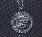 Does anyone know what is on the outer side of the pendant?