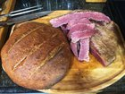 All Homemade Jewish-Style Corn Rye and Corned Beef