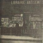 Literal Antisemitic Bookstore. Paris 1901.