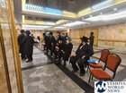 Belzer Chassidus Vaccinate 1,500 In Main Beis Medrash in Yerushalyim