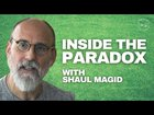 Dr. Shaul Magid interviewed about living inside the paradox, the possibilities, opportunities and dangers of real spirituality today, the intersection between Jewish theology and other traditions on incarnation and apotheosis, and mystical antinomianism, clash of realities, in today's day and age.