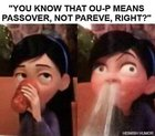 Friendly reminder the ou-p is pesach, not parve
