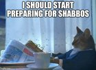 As Shabbos gets later, it's easy to get carried away making memes with the extra time