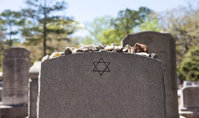 Jewish gravestones vandalized in Belfast cemetery