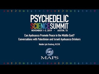 Can Ayahuasca Promote Peace in the Middle East? Conversations with Palestinians and Israelis