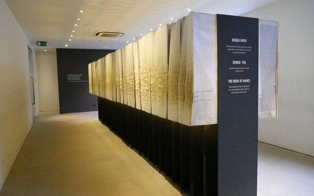 """This is the """"Book of Names"""" in Auschwitz. It holds the name of every known Holocaust victim."""
