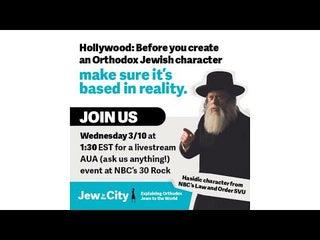 Jew in the City at NBC - Livestream