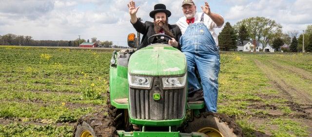 A Brooklyn Hasid and Ohio Christian farmer unite to make a kosher cookbook