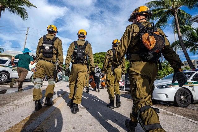 The IDF Arrives in Surfside