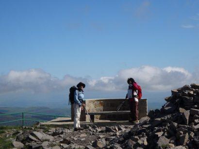 au sommet du Plomb du Cantal