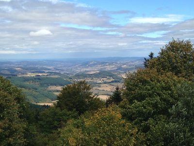 Panorama vu de la tour