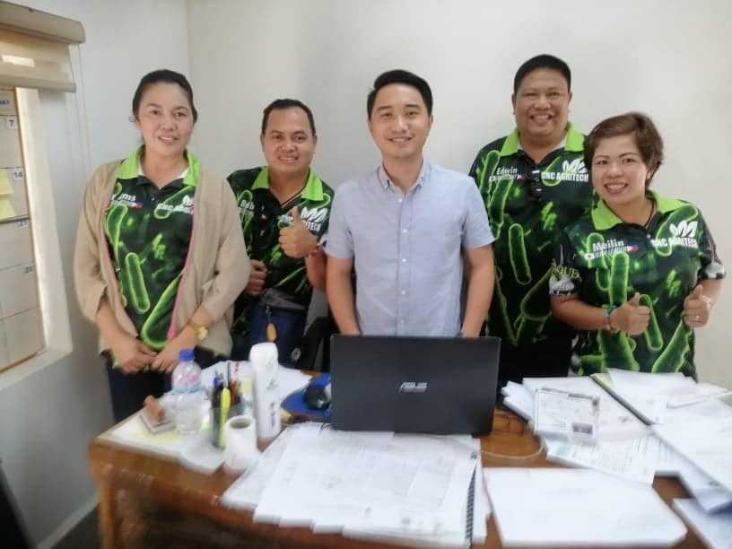 CHC Agritech Team photo op with Atty Rhenan Diwas