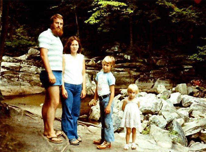 Spetzler Family in 1977