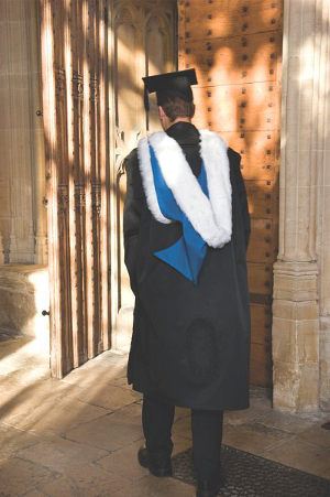 Academic Dress  Christ Church Oxford University
