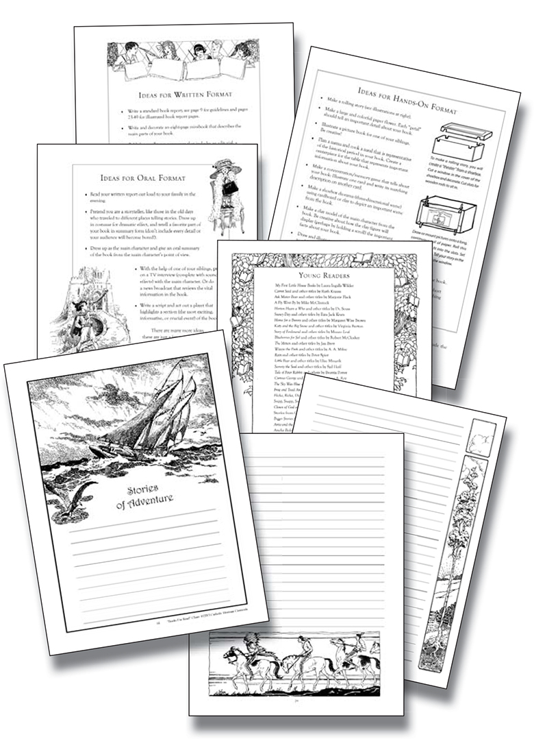 Guide to Creative Book Reports: Samples