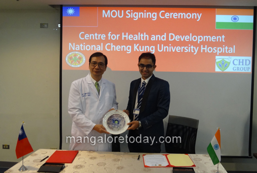 City's CHD group, in mutual tie up with Taiwan health initiatives