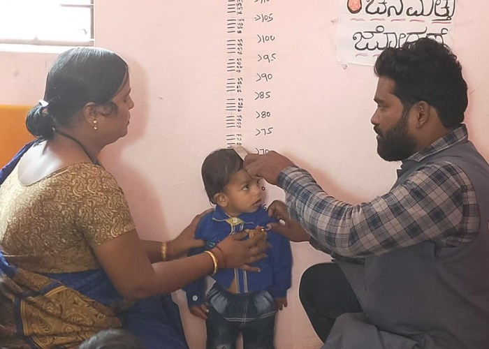 CHD Group showcases best practice for reducing malnutrition in India