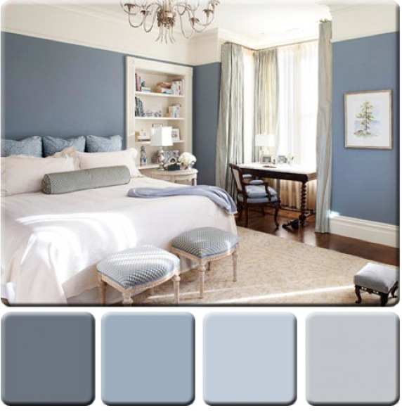 monochromatic color scheme bedroom Monochromatic Schemes in Design | CHD Interiors | Home