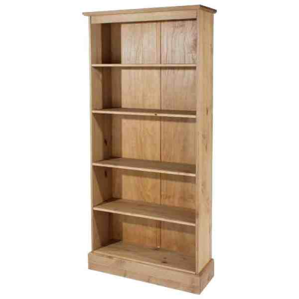 Cotswold Tall Bookcase. Solid Pine Cheap-furniture