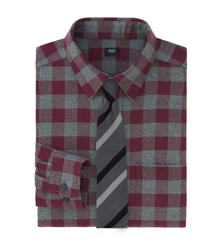 Fall Flannel Shirts  Neckties  News