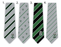 Custom Embroidered Logo Neckties for High School Soccer Team