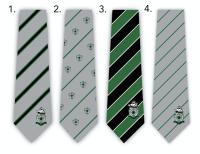 Custom Embroidered Logo Neckties for High School Soccer Team