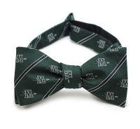Custom Self Tied Bow Ties with Woven Logos