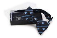 Custom Logo Bow Ties with Custom Gift Boxes