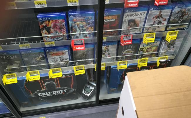 Walmart Ps4 Game Clearance Sale Ymmv Video Game Deals