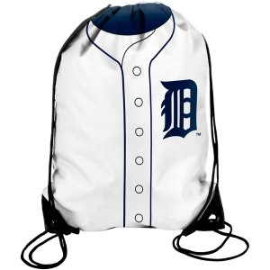 Miguel Cabrera Detroit Tigers Player Drawstring Backpack - White