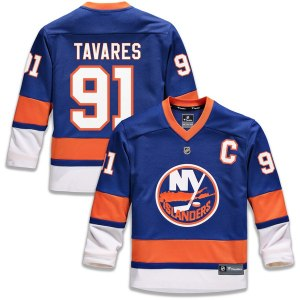 Youth New York Islanders John Tavares Fanatics Branded Royal Replica Player Jersey