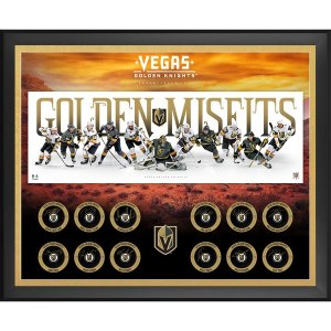 Vegas Golden Knights Fanatics Authentic 2017-18 Inaugural Season Framed Autographed 43