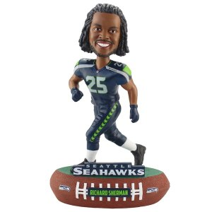 Seattle Seahawks Richard Sherman Baller Player Bobblehead