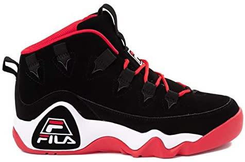Fila Men's Grant Hill 1 Basketball Shoes (9.5, Black/White/Fila Red) Oceanside, California